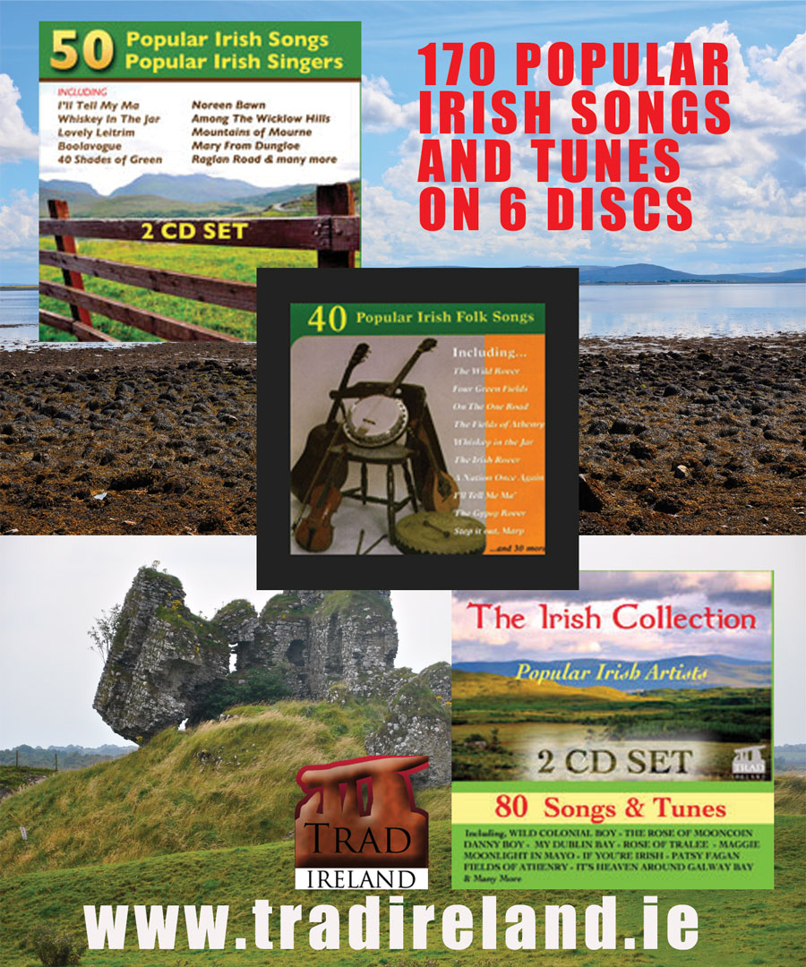 Trad Ireland - View all of our Irish Trad Music Special offers